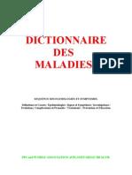 Médecine Dictionnaire des Maladies Cours 3