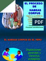 1- EL PROCESO DE HABEAS CORPUS