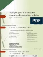 3. parte I Equipos para el transporte continuo de materiales solidos