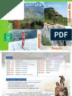opuscolo itinerari mountain-bike