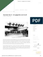 Dornier Do X - Un gigante con le ali - AeroStoria
