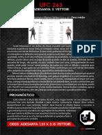 Relatório UFC Lucrativo - UFC 263