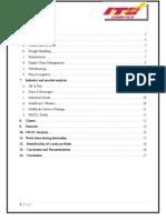 Internship Report on ITC logistics