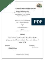 Mémoir RFID