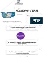 Management de la qualité
