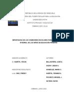 Proyecto de Investigación Importancia de los Comedores Escolares para el desarrollo integral de los niños de educación primaria (1)