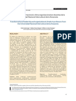 LiderazgoTransformacional Y Clima Organizacional