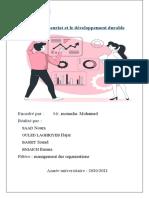L'Entrepreneuriat Rapport
