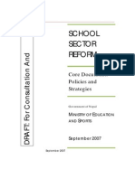 school sector reform english