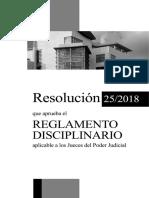 Reglamento Disciplinario Poder Judicial