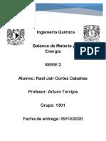 Serie 2 Cortes Cabañas Raul