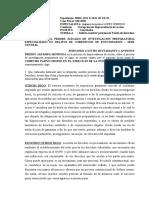 FERNANDO CAYCHO BUSTAMANTE - SIRVASE RESOLVER NUESTRA PETICION DE TUTELA DE DERECHOS Y FIJE FECHA Y HORA PARA LA CITADA AUDIENCIA.