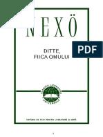 Martin Andersen Nexo - Ditte, Fiica Omului (v1.0)