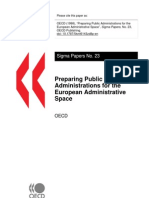 Preparing Public Administrations for the European Administrative Space