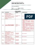 TTP I - Plano de Aula 2017.2 - II Unidade