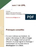 Cours 1 UML