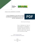 Características de Inflamabilidade de Materiais Poliméricos Com Aplicação No Setor Aeroespacial