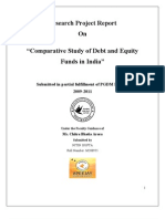 debt and equity funds in India