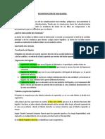 RECONSTRUCCIÓN DE VIAS BILIARES