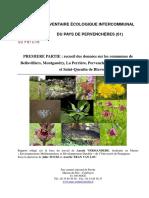 Animals - Inventaire Écologique Intercommunal Du Pays de Pervenchères - Parc Naturel Régional Du Perche