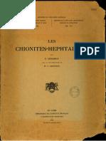 Les Chionites-Hephtalites (1948)
