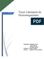 Laboratorio 3 Fisica electromagnetismo