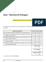 Theoreme de Pythagore Cours 1