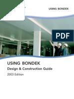 Bondek Design & Construct Manual
