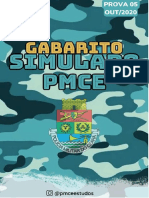 05 Gabarito Simulado Out-2020 @Pmceestudos
