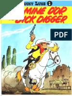Lucke Luke 01 - La Mine d'or de Dick Digger