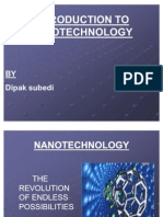 INTRODUCTION TO NANOTECHNOLOGY Dipak (1)