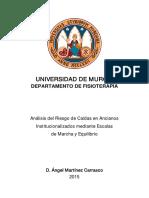 Ángel Martínez Carrasco Tesis Doctoral