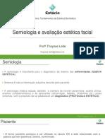 Aula 4_Semiologia e avaliação estetica facial_