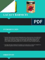 LACAS Y BARNICES