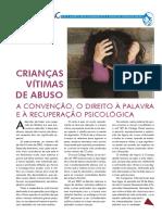 Boletim do IAC - Crianças Vítimas de Abuso