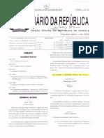 20110216 - Lei No 12-11 de 16 de Fevereiro 2011. Referente as Transgressoes Administrativas