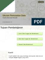 KD 3.28 Ukuran Pemusatan Data (Kuartil, Desil, Persenti) REVISI