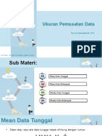 KD 3.28 Ukuran Pemusatan Data (Mean-Modus)