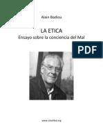Badiou, Alain - La Etica
