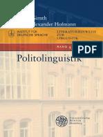 Girnth-Hofmann - Politolinguistik