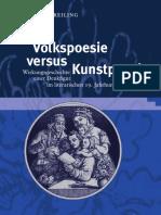 Jesko Reiling - Volkspoesie Versus Kunstpoesie 19Jh