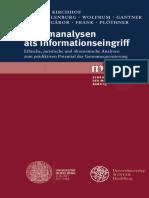Klaus Tanner Ua - Genomanalysen Als Informationseingriff