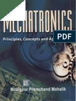 Mechatronics By Nitaigour Premchand Mahalik