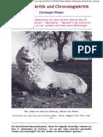 Pfister, Christoph - Geschichtskritik und Chronologiekritik (2008, Netz)