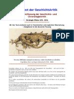 Pfister, Christoph - Manifest der Geschichts- und Chronologiekritik (2016, Netz)