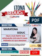 Charlene Oliveira Maratona SEDUC Conhecimentos Pedagogicos