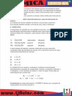 Quimica Questões Aula 05