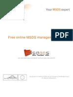 MSDS download - translation - sharing