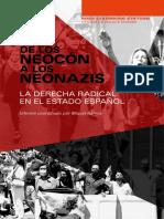 Índice  De los neocón a los neonazis La derecha radical en el Estado español