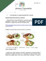 P&D; Concurența, Comportamentul de Consum, Poziționarea Pe Piață, Strategia de Diferențiere, Strat. Extindere - Proiect Final